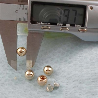 Q180 Round/Pearl Plastic Rivets 8mm 1000pcs/bag