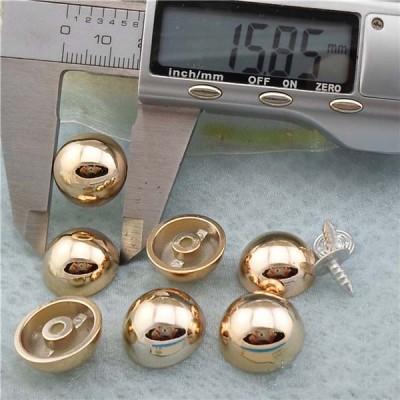 Q181 Dome Plastic Rivets 16x8mm 1000pcs/bag