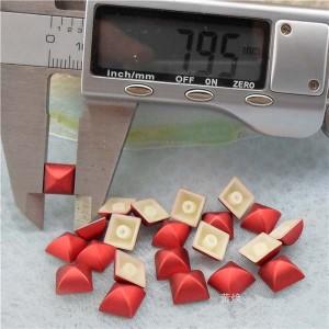 Q198 Yurt Pyramid Plastic Rivets 8mm 1000pcs/bag