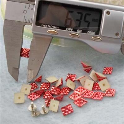 Q200 Pyramid Plastic Rivets 6mm 1000pcs/bag
