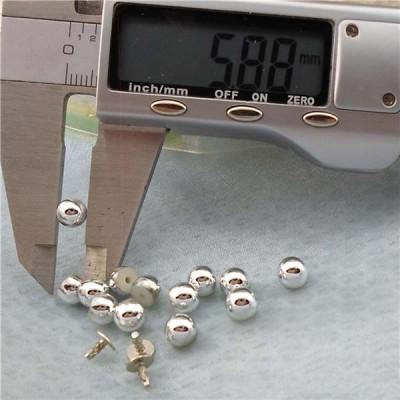Q205 Dome Plastic Rivets 6x5mm 1000pcs/bag
