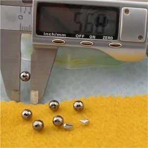 QPR006 Round/Pearl Plastic Rivets 6mm 1000pcs/bag