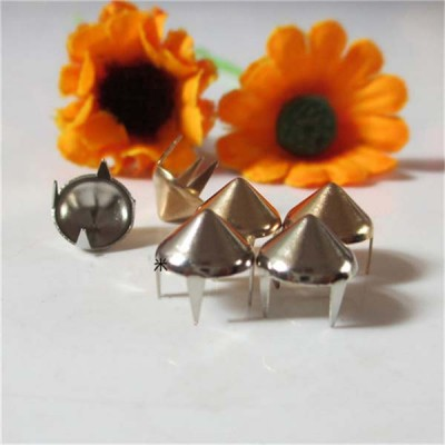 XL0804 Cone Iron/Brass Studs 8x4mm 1000pcs/bag