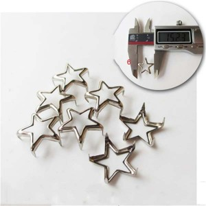 XL1503 Pentagram Studs For Leathercraft(iron/brass) 15mm 1000pcs/bag
