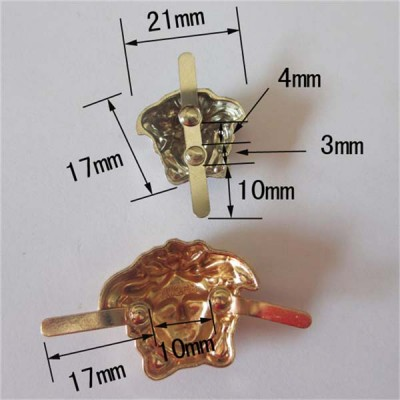 XL2117 Angel alloy studs 21x17mm 100pcs/bag