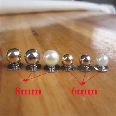 XLQ006 Nipple Plastic Rivets 6mm 1000pcs/bag