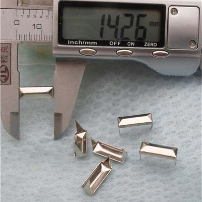 ZDCT-5314 Rectangle Studs(iron/brass) 14x5mm 1000pcs/bag