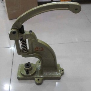 98# Hand press machine(Match electric mold) Rivet machine,,Eyelets machinemanual deduction machine