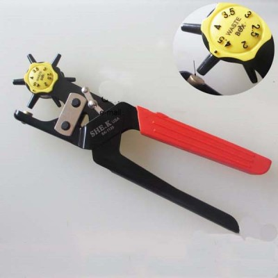 Heavy punch hole plier