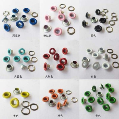 REE100505# Round edge eyelets 10x5x5mm 1000pcs/bag