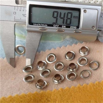 REE2# Round edge eyelets 9x5x4.5mm 1000pcs/bag