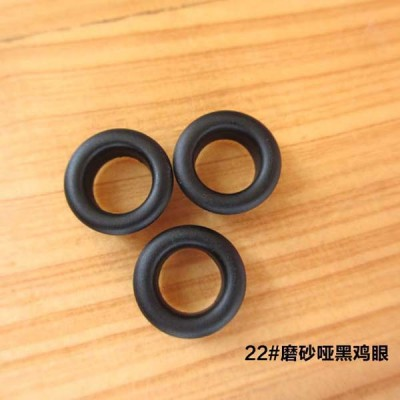 REE22# Round edge eyelets 13x8x5mm 1000pcs/bag