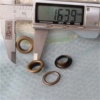 REE24# Round edge eyelets 16.5x10x5mm 1000pcs/bag