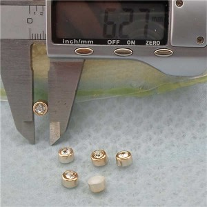 Q220 Round Plastic ABS Rivets 6x5mm 1000pcs