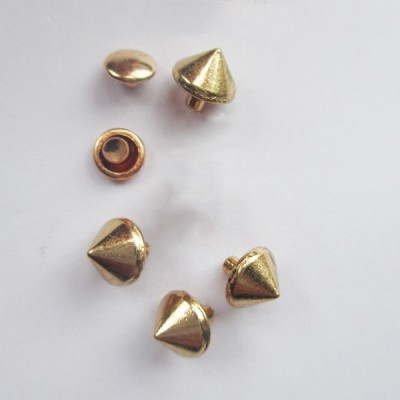 X0806 Cone Alloy Rivets 8x6mm 1000pcs