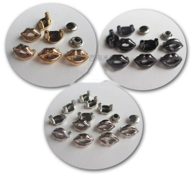 X1007 Lip Alloy Rivets10x7mm 100pcs