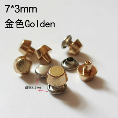 XB0703 Bucket Alloy Rivets 7x3mm 1000pcs