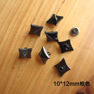 XX1210 Rhombus Alloy Rivets 12x10mm 1000pcs