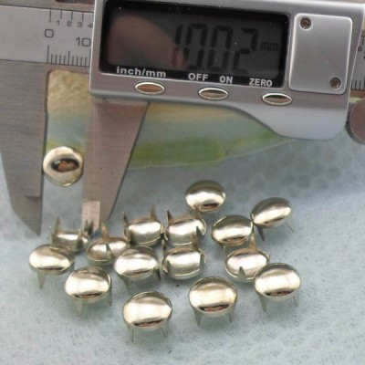 A093 Dome Studs(iron/brass) 10mm 1000pcs/Bag