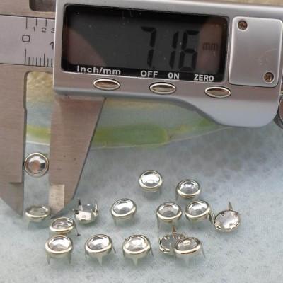 A102 Rhinestone Studs For Leather 7mm 1000pcs/Bag