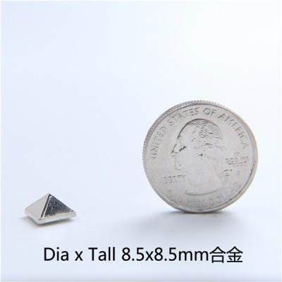 J8585 Wholesale Pyramid Spikes 8.5x8.5mm 100pcs/Bag