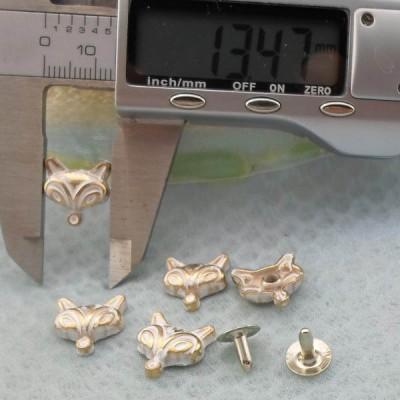 K216 Fox Alloy rivets 13.5x4mm  100pcs/Bag