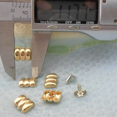K217 Profiled Alloy Rivets 12x4mm 1000pcs/Bag
