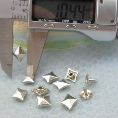 K219 Pyramid Rivets Studs 10.5x4mm 1000pcs/Bag