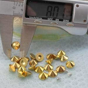 Q246 Cone Plastic Rivets 8x4.2mm 1000pcs/Bag