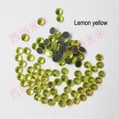 SS6 Zircon hot fix nails 1440pcs/Bag