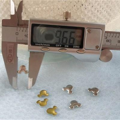 TPMT-0010 Metal Oxytropis Hot Fix nails 5000pcs/Bag