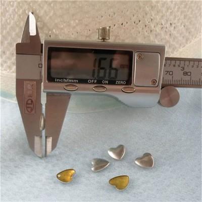 TPXX-0009 Metal Heart Hot Fix nails 5000pcs/Bag