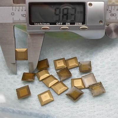 X041 Metal Keystone hot fix nails 10x2mm 5000pcs/Bag