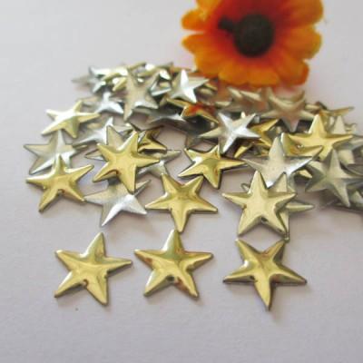 X0802 Metal Pentagram Hot Fix nails 8x2mm 5000pcs/Bag