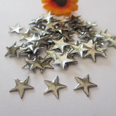 X1002 Metal Pentagram Hot Fix nails 10x2mm 5000pcs/Bag
