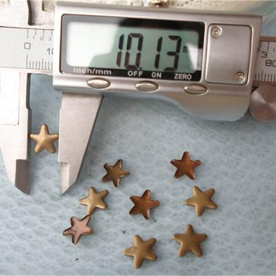 X149 Metal Pentagram Hot Fix nails 10x1.3mm 5000pcs/Bag