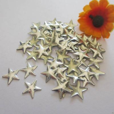 X5501 Metal Pentagram  Hot Fix nails 5.5x1mm 5000pcs/Bag
