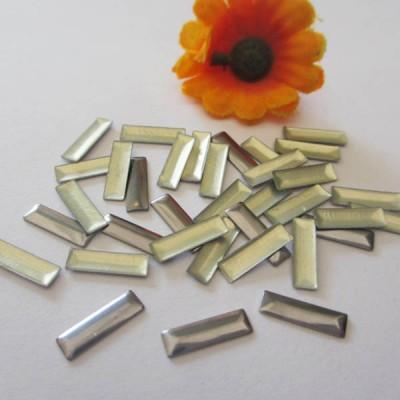 XO0305 Metal Rectangle Hot Fix nails 5000pcs/Bag