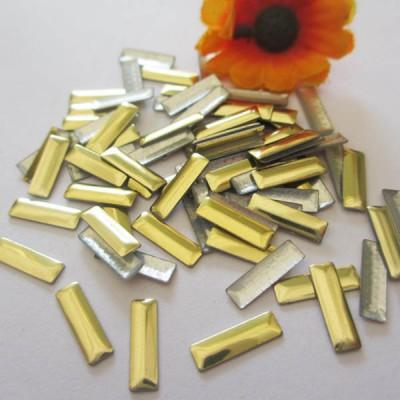 XO0310 Metal Rectangle Hot Fix nails 5000pcs/Bag