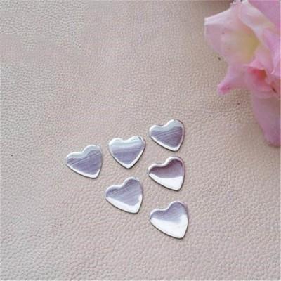 XO0601 Metal Heart Hot Fix nails 5000pcs/Bag