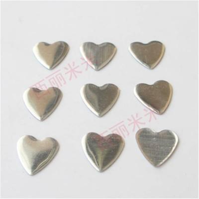 XO0802 Metal Heart Hot Fix nails 5000pcs/Bag