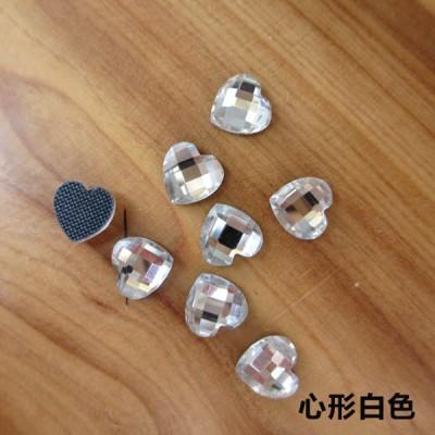 XP0909 Middle East Drilling hot fix nails heart 9mm 1440pcs/Bag
