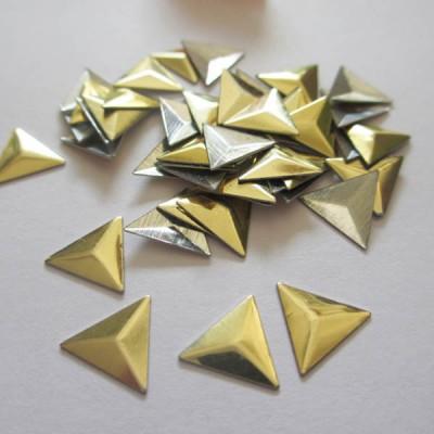 XT1002 Metal Triangle  Hot Fix nails 10x2mm 5000pcs/Bag