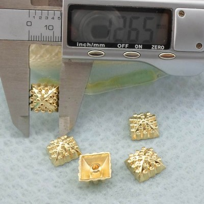K238 Pyramid Decorative Metal Rivets 12.5x6mm 1000pcs/bag