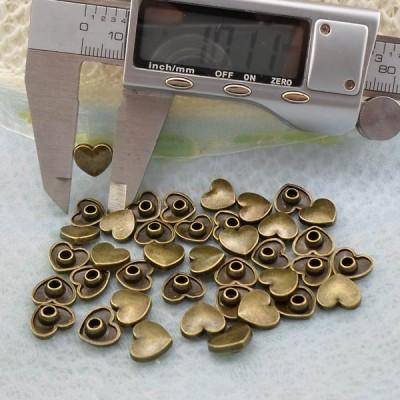 K256 Heart Alloy Rivets 10x3.5mm  1000pcs/bag