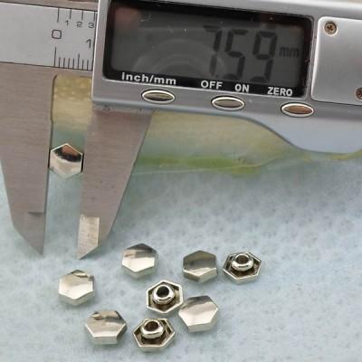 K262 Flat Alloy Rivets 8.5x4mm  1000pcs/bag