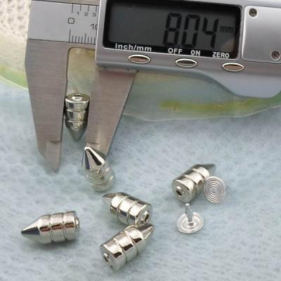 K267 Cone Alloy Rivets 8x16.4mm 1000pcs/bag