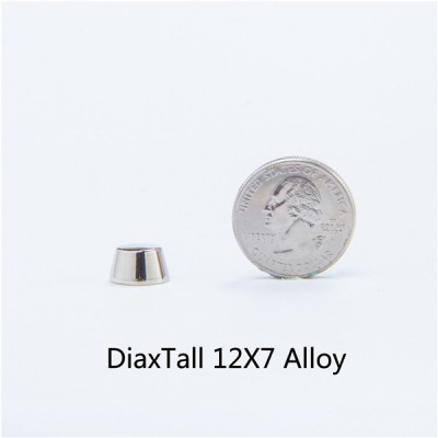 NO61alloy Wholesale Bucket Spikes 12x7mm  100pcs/bag
