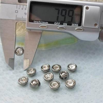 Q216 Dome Plastic Rivets 8x5mm 1000pcs/bag