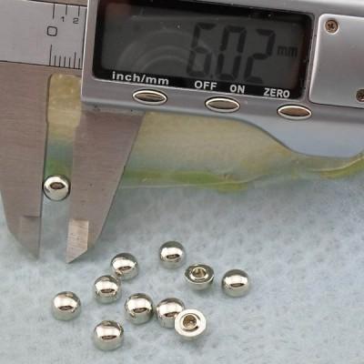 K263 Dome Alloy Rivets 6x4mm 1000pcs/bag